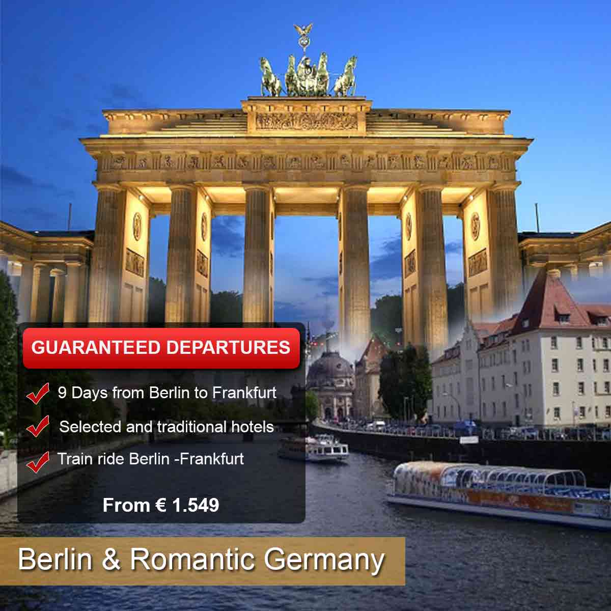 Berlin & Romantic Germany