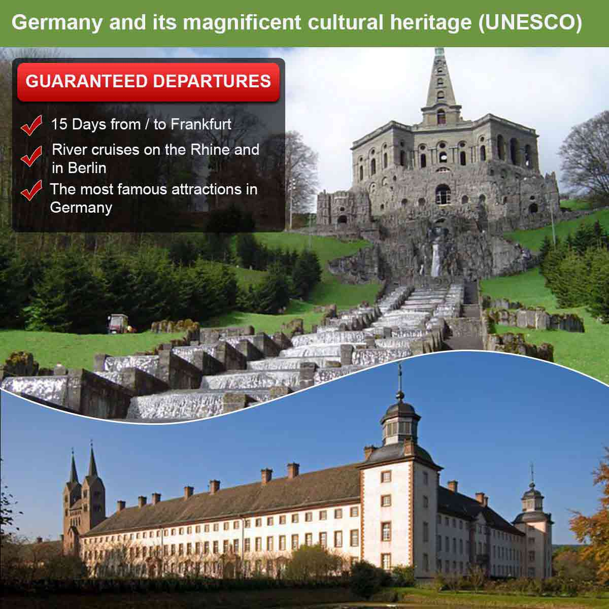 Germany and its magnificent cultural heritage (UNESCO)