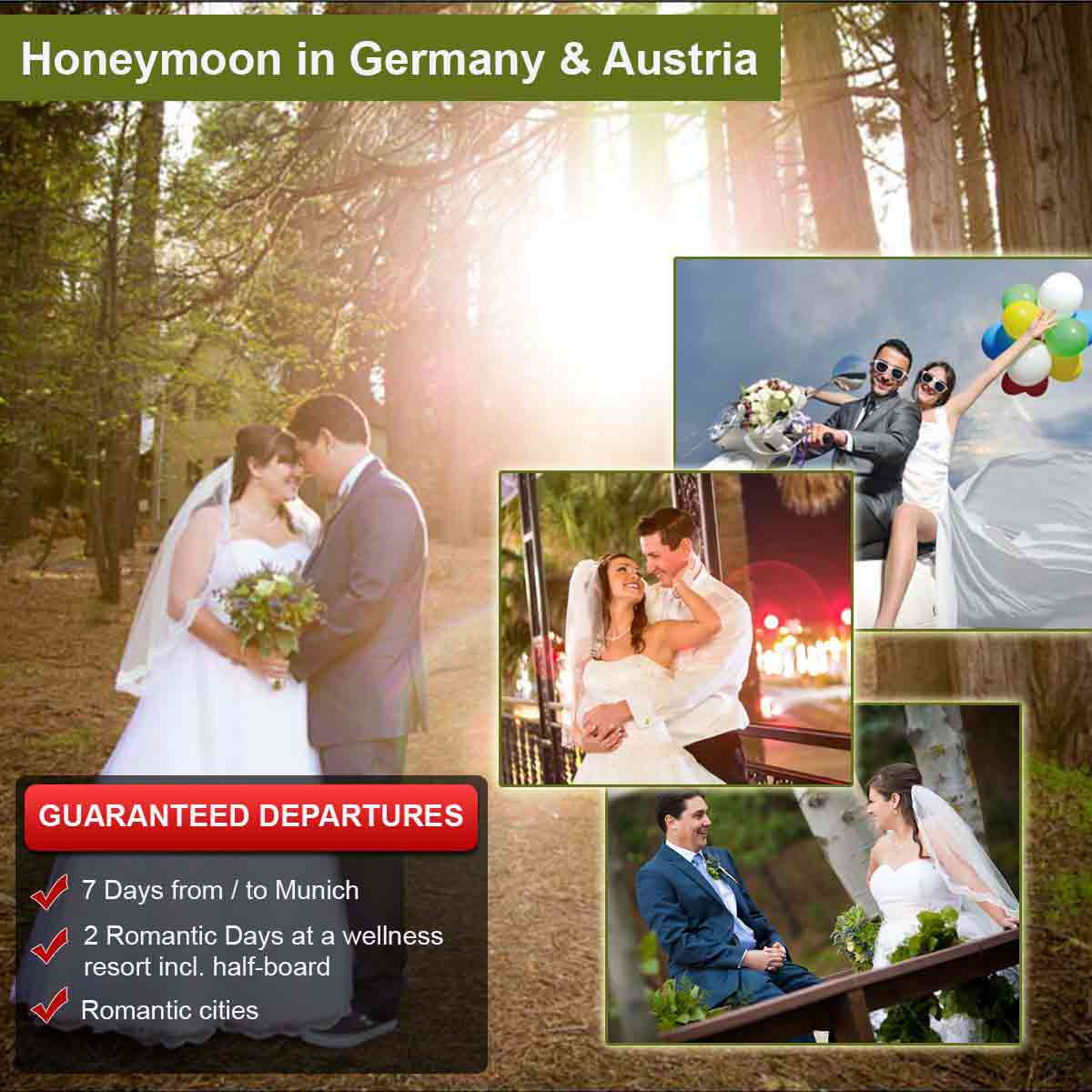 Honeymoon in Germany & Austria