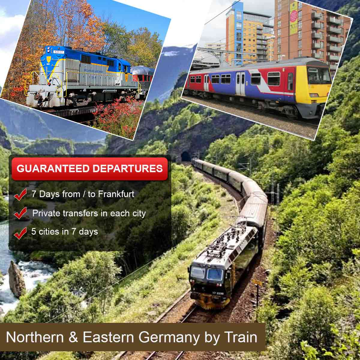 Northern & Eastern Germany by Train