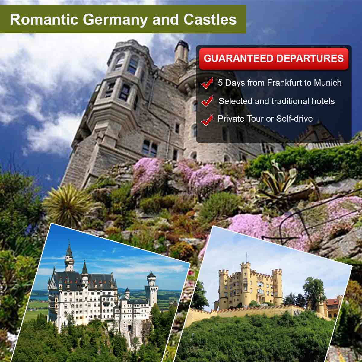Romantic Germany and Castles