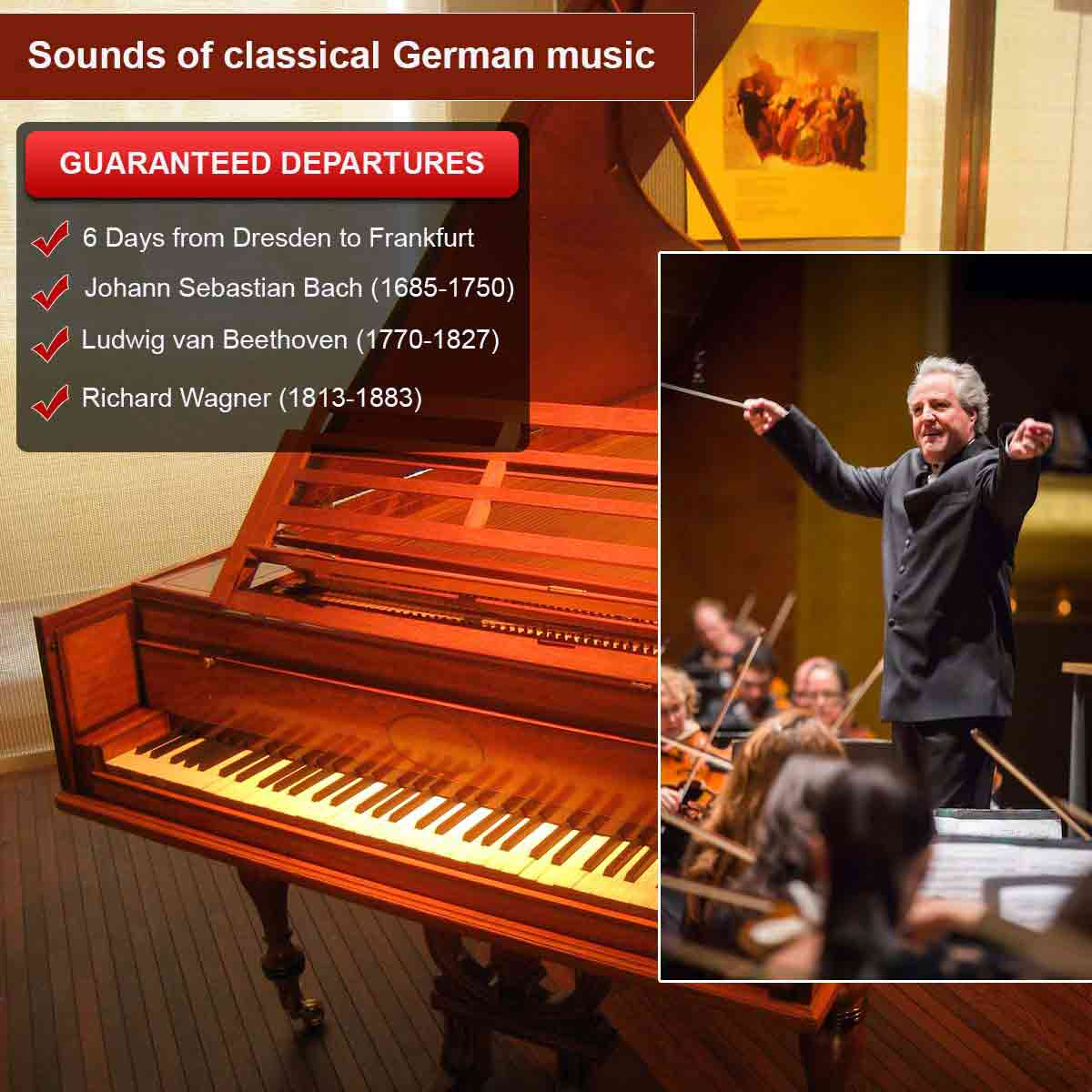 Sounds of classical German music