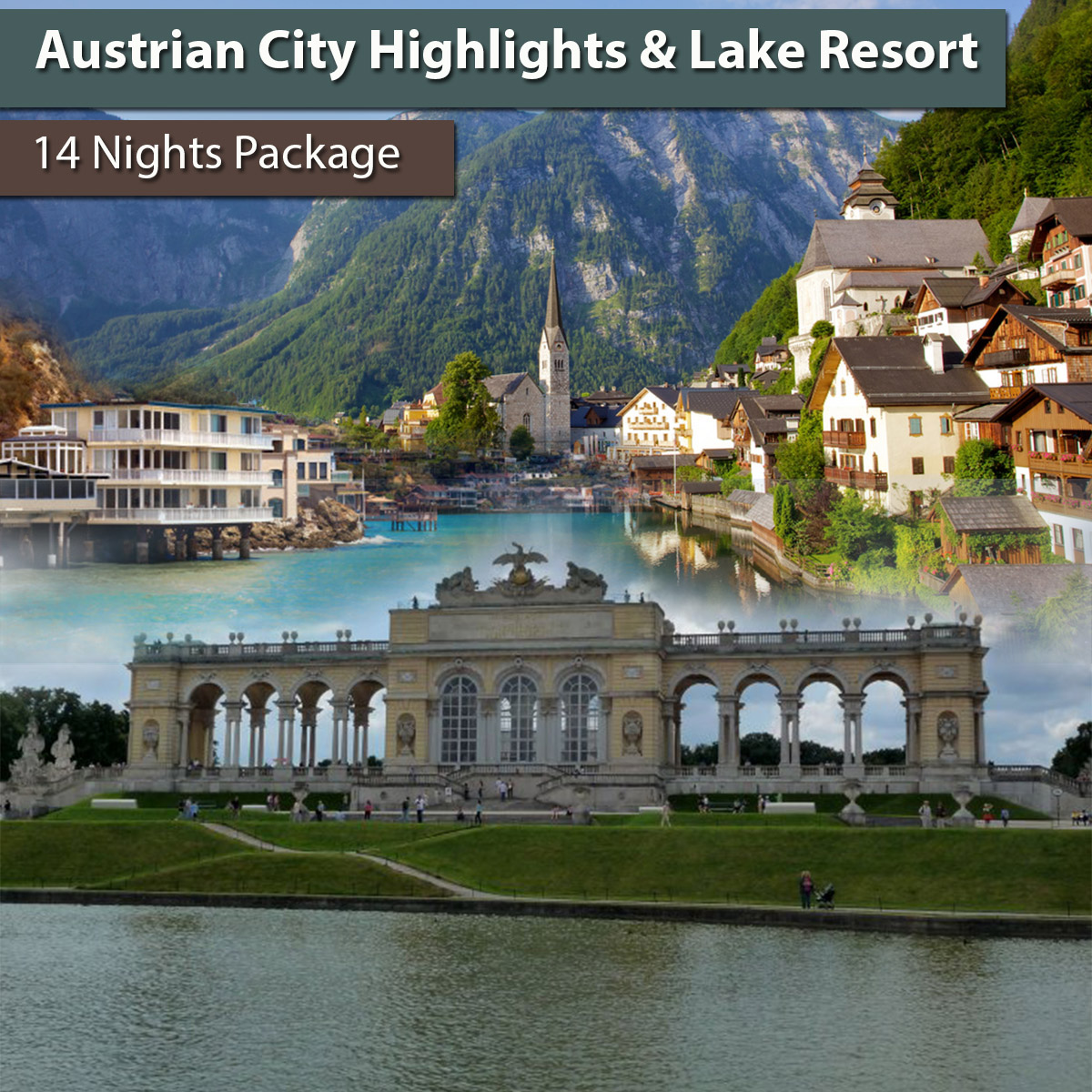Austrian City Highlights & Lake Resort
