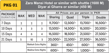 Discounted Umrah Pkg 01