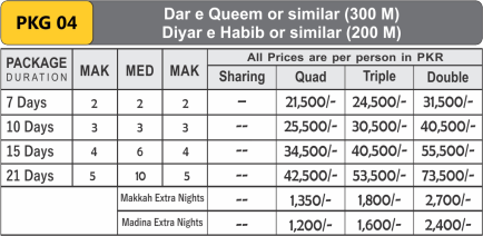 Discounted Umrah Pkg 04