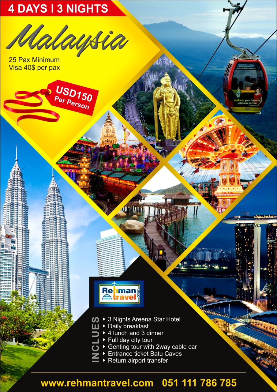 Rehman Travel Malaysia Package