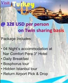 Rehman Travel Turkey Tour Package