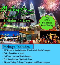 Rehman Travel Malaysia Tour Package