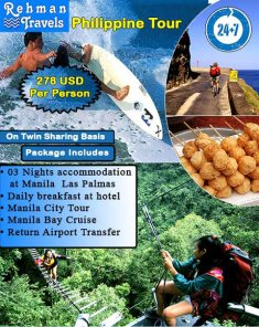 Rehman Travel Philippines tour package